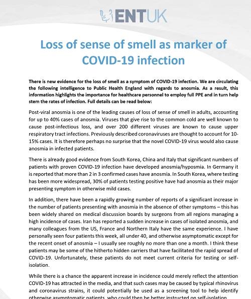 コロナウイルスの嗅覚障害のステートメント.jpg